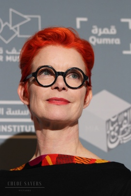 Sandy Powell, Qumra. March 2018