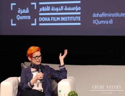 Sandy Powell's Master Class, Qumra. March, 2018.