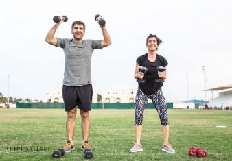 Metafit Workout Promotion Photos. April, 2019