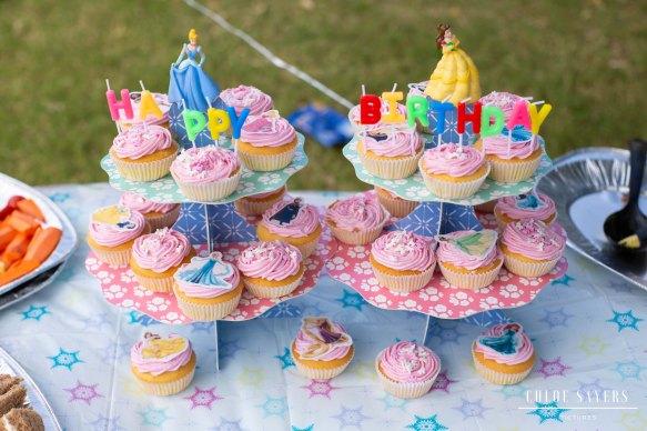 Birthday cupcakes. February, 2019
