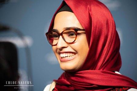 Maha Essid, Director of REFUGE. Ajyal, 2019.